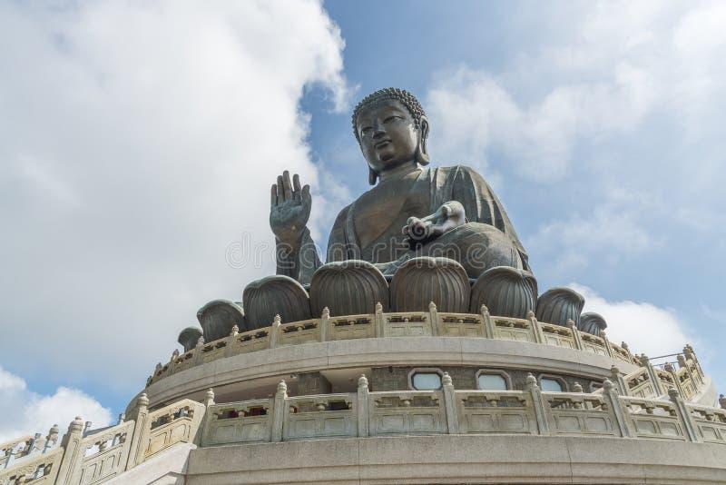 Tian Tan Buddha statue in Hong Kong, China stock photos