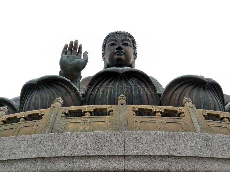 Tian Tan Buddha a Hong Kong immagini stock
