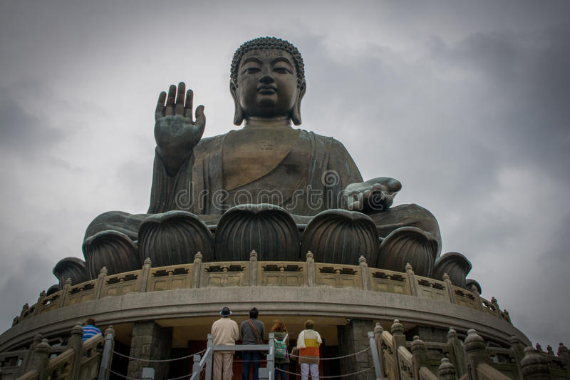 Tian tan Buddha, Hong Kong lizenzfreie stockfotos