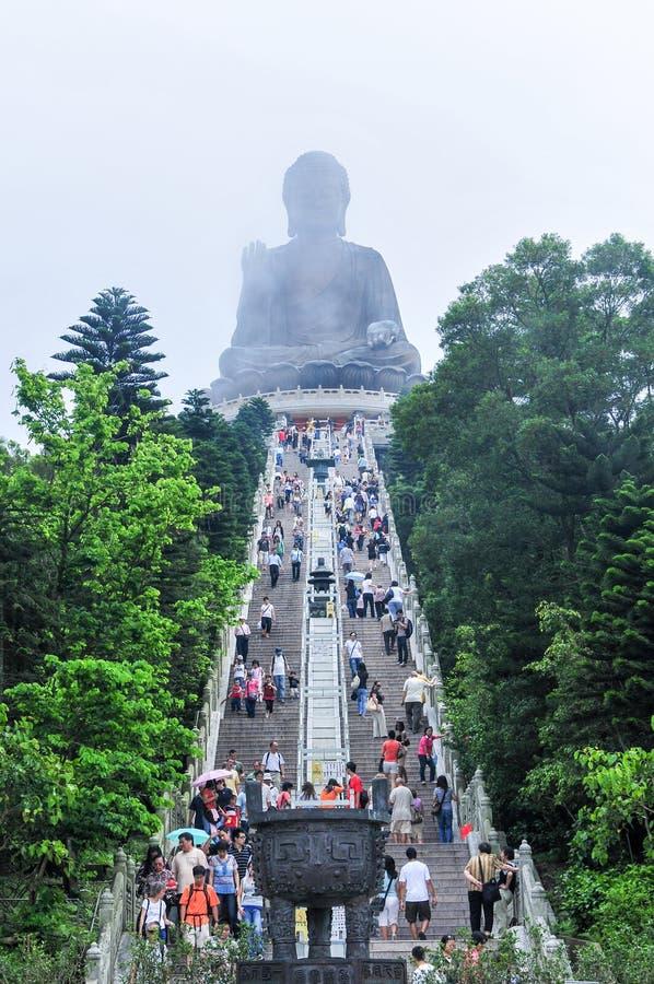 Tian Tan Buddha of Hong Kong royalty free stock images