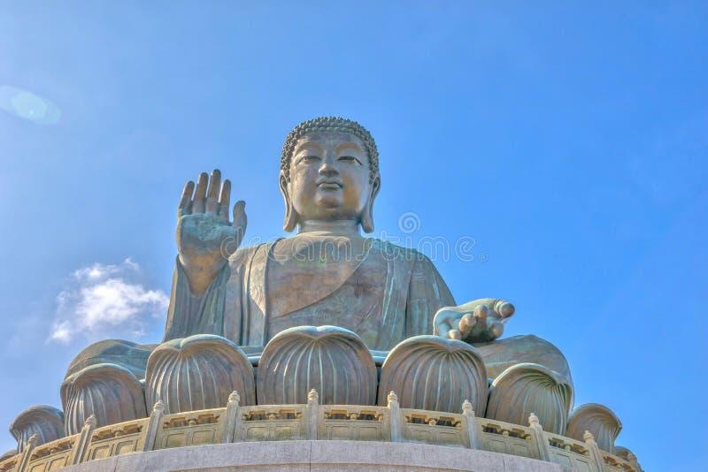 Download Tian Tan Buddha Lantau stock image. Image of chinese - 83723213