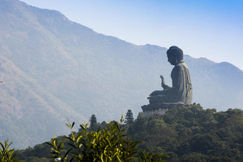 Tian Tan Buddha, Lantau-Insel, Hong Kong stockfoto
