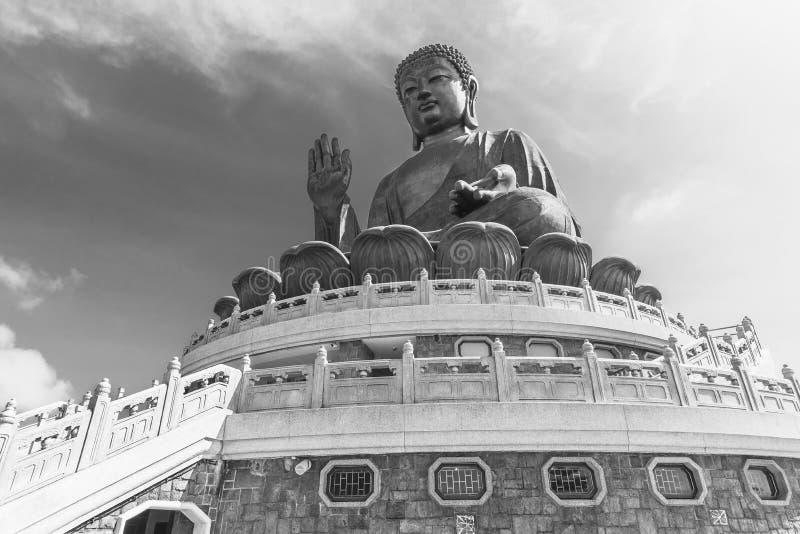 Tian Tan Buddha statue in Hong Kong, China royalty free stock photos