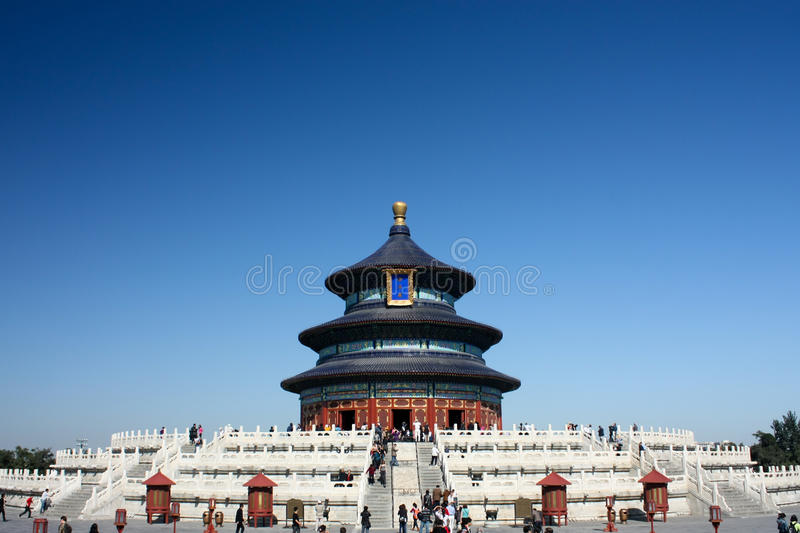 Download Tian Tan (Sky Alter) stock image. Image of peking, travel - 19323315