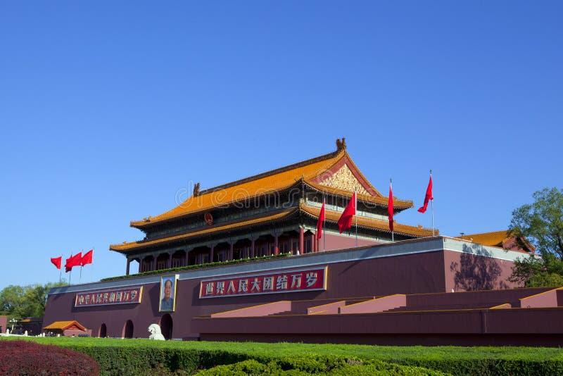 Tiananmen de Pékin photo libre de droits