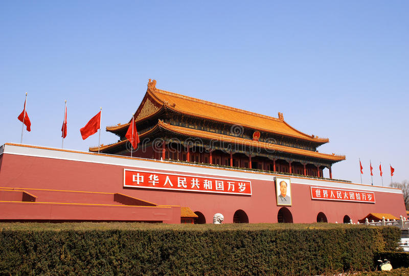 Download Tiananmen Gate In Forbidden City (Beijing,China) Editorial Stock Photo - Image: 23741493