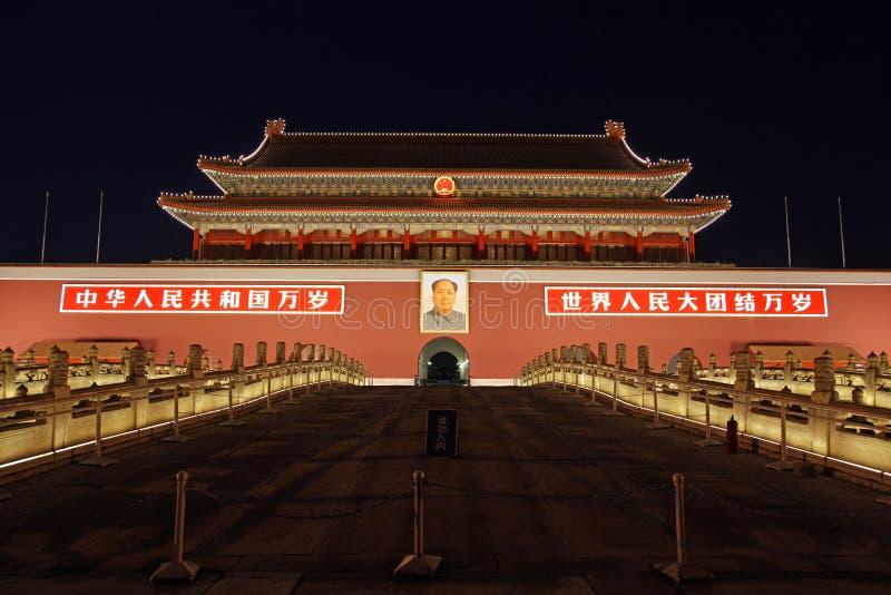 Tiananmen-Gatter stockfoto