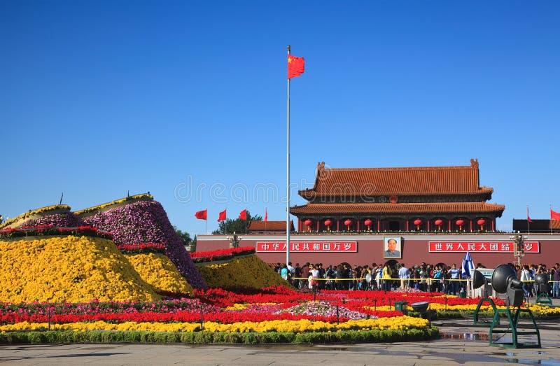 Tiananmen-Platz lizenzfreie stockfotos