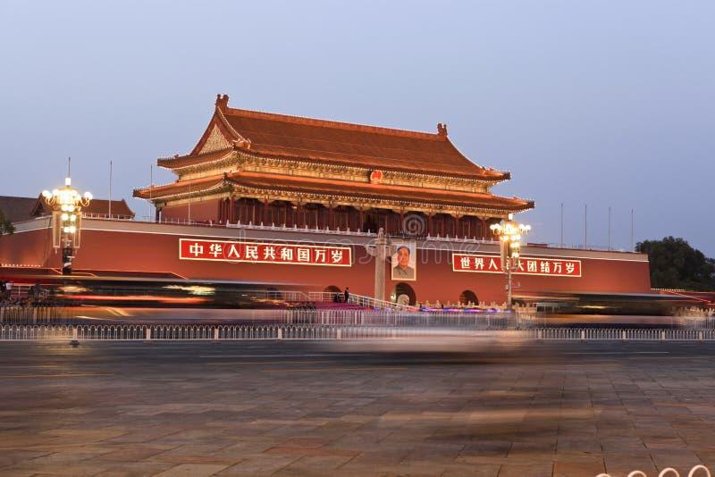 Tiananmen-Platz stockfotografie