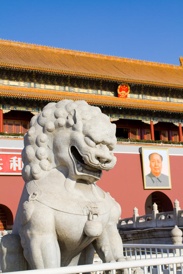 Tiananmen Square royalty free stock photography