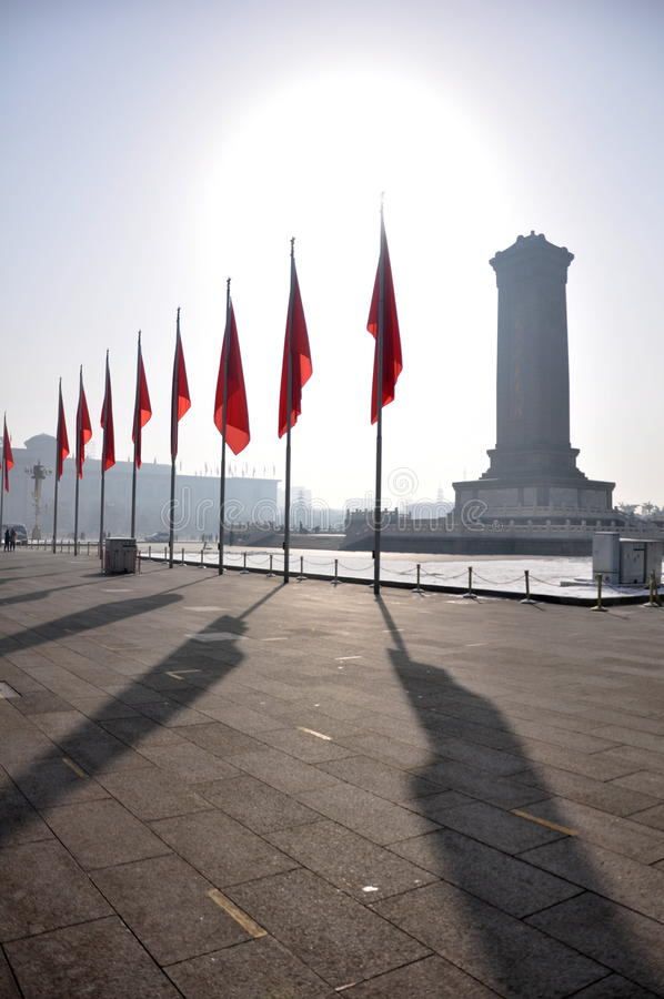 Download Tiananmen Square stock photo. Image of monument, area - 16206386