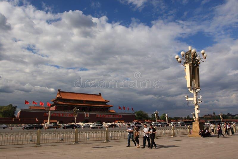 Tiananmen Square stock photo