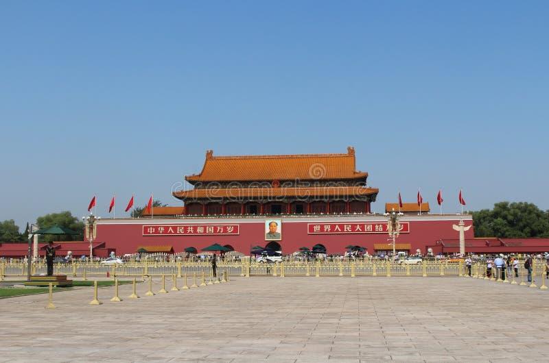 Tiananmen-Tor stockfotos