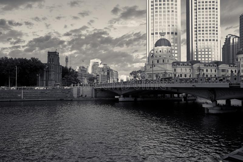 Tianjin, China royalty-vrije stock afbeeldingen