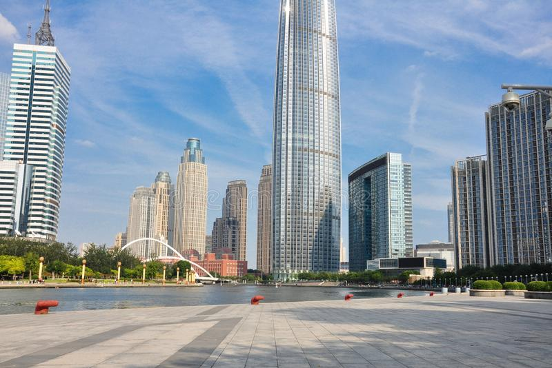 Tianjin city royalty free stock photography