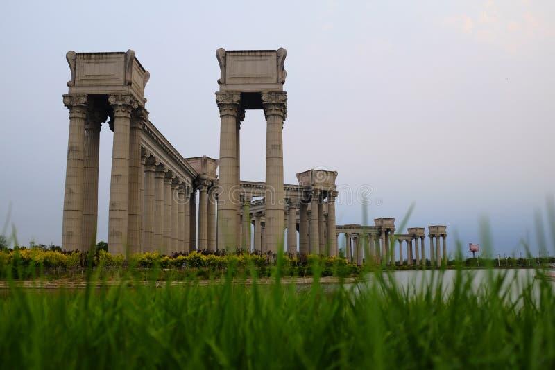 Tianjin miasta sceneria miasto, Chiny obraz stock