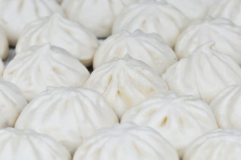 Tianjingoubuli gevulde broodjes stock foto's
