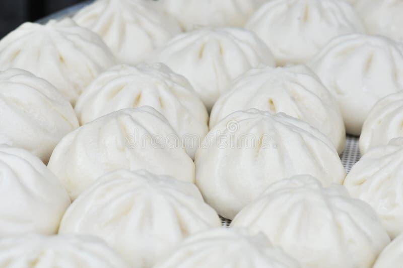 Tianjingoubuli gevulde broodjes stock fotografie
