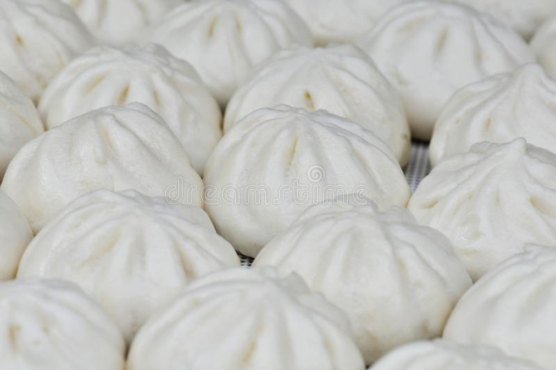 Tianjingoubuli gevulde broodjes stock afbeelding