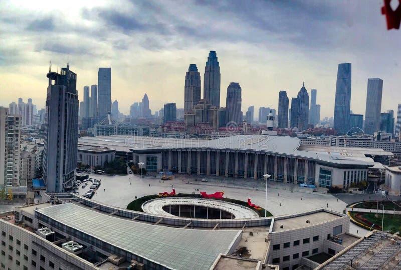 Tianjinstation stock foto