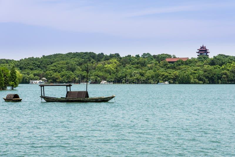 Tianmu湖风景 图库摄影