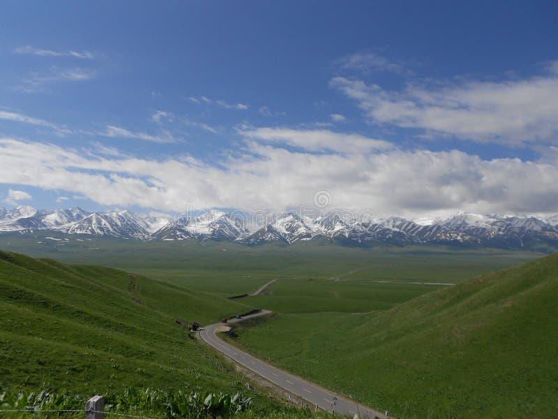 Tianshan mountain royalty free stock images