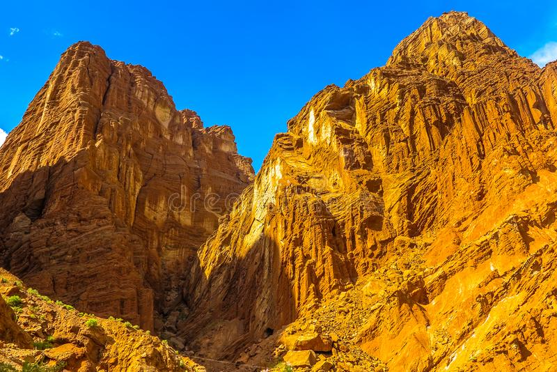 Tianshan Grand Canyon 37. Tianshan Mysterious Grand Canyon Landscape Breathtaking Picturesque Amazing View Point stock photos