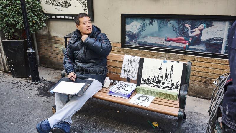 Tianzifang ή κυνόδοντας Σαγκάη Tianzi στοκ φωτογραφία με δικαίωμα ελεύθερης χρήσης