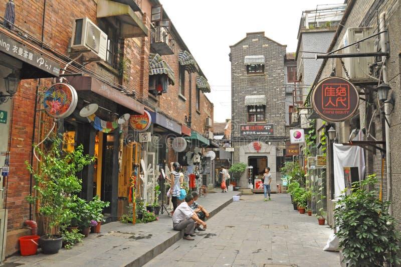 Tianzifang imagen de archivo