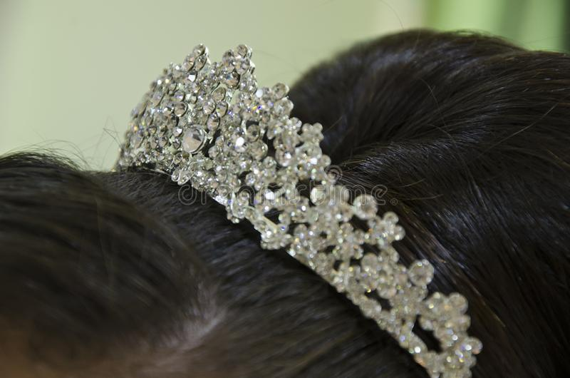 tiara arkivfoton