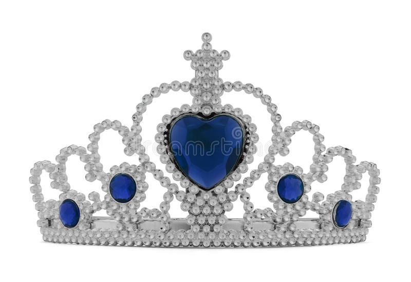 Tiara Blue royaltyfri fotografi