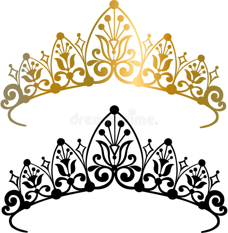 tiara crown vector illustration stock vector illustration of rh dreamstime com tiara vector art tiara vector graphic