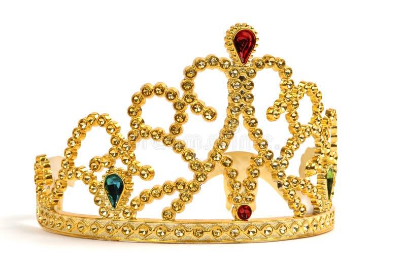 Tiara del oro foto de archivo