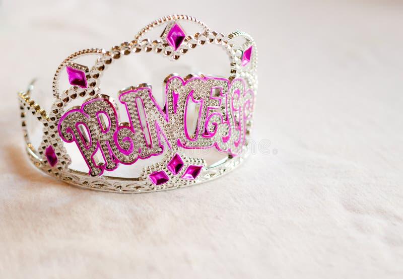 Tiara del partido de la princesa fotografía de archivo libre de regalías