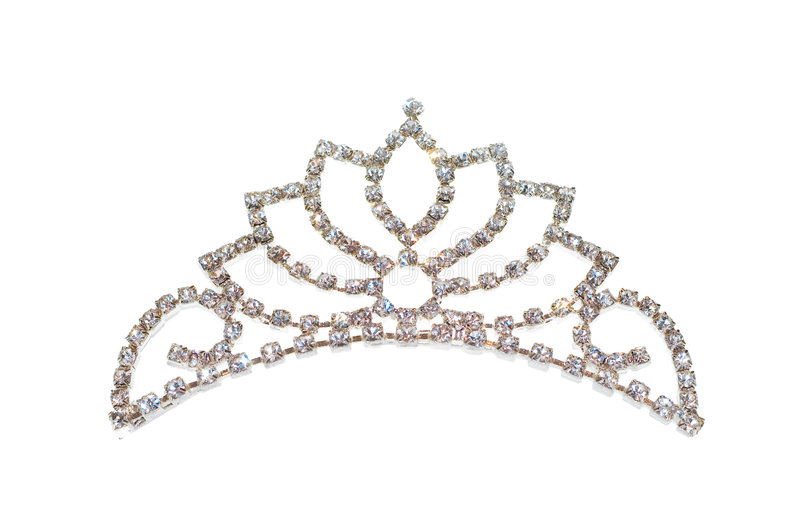 Tiara Or Diadem Or Crown Isolated Stock Photo Image Of