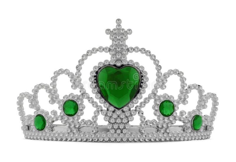 Tiara Green royaltyfria bilder