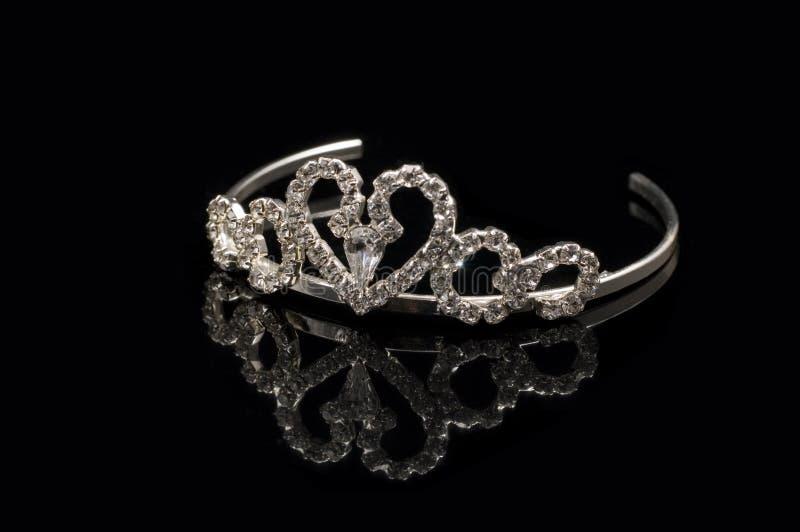 Tiara nupcial imagem de stock royalty free