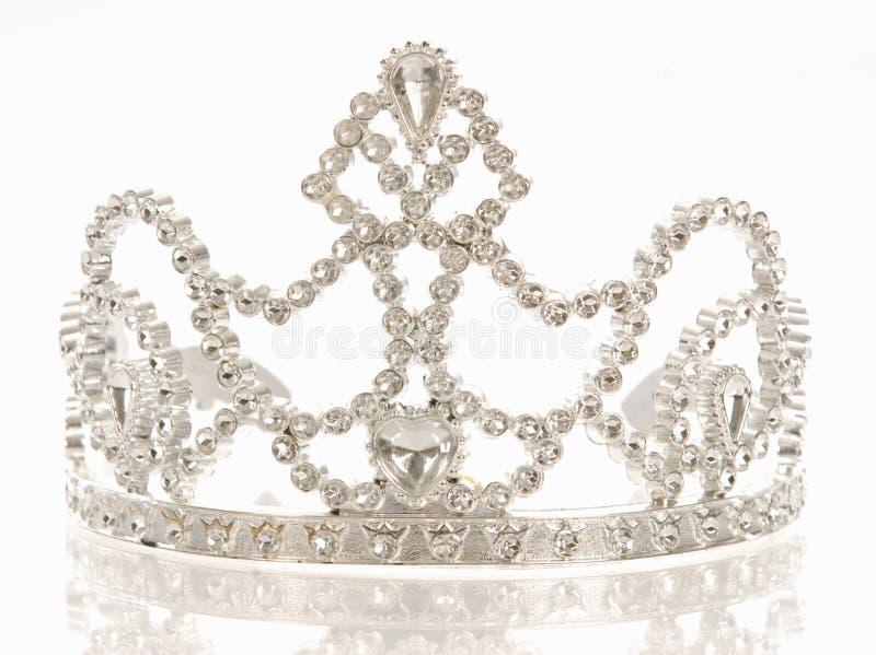 Tiara oder Krone stockbilder