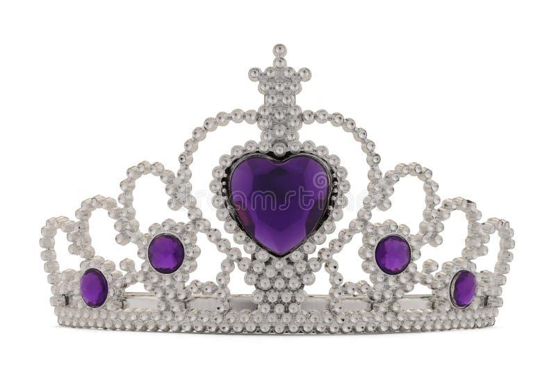 Tiara Purple royalty-vrije stock afbeelding