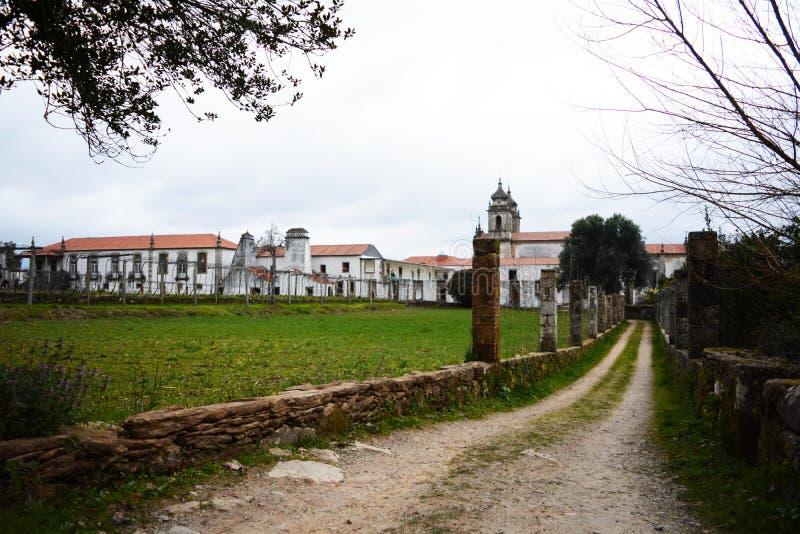 Tibaes Portugalia Dom viiia Pałac ziemia zdjęcie royalty free
