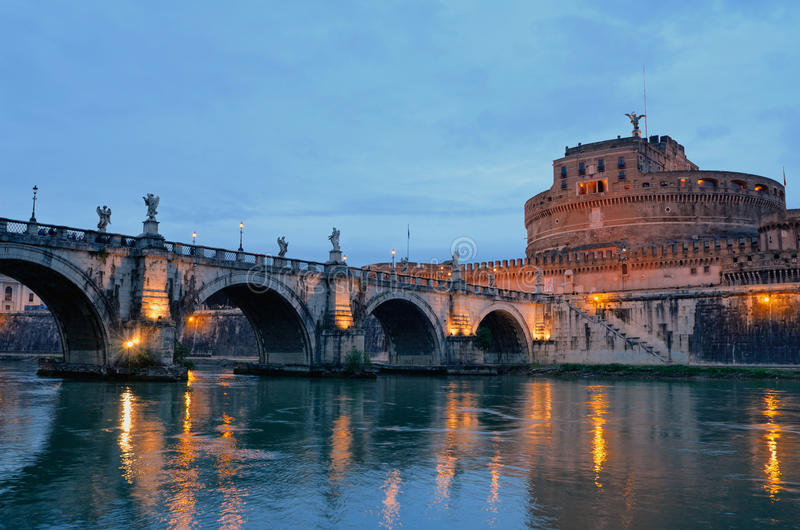 Tiber River Royalty Free Stock Images