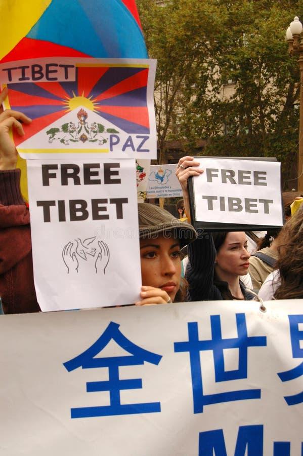 Tibet royalty-vrije stock fotografie