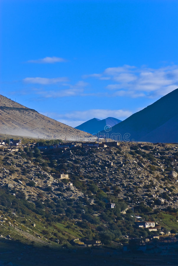 Tibet imagens de stock