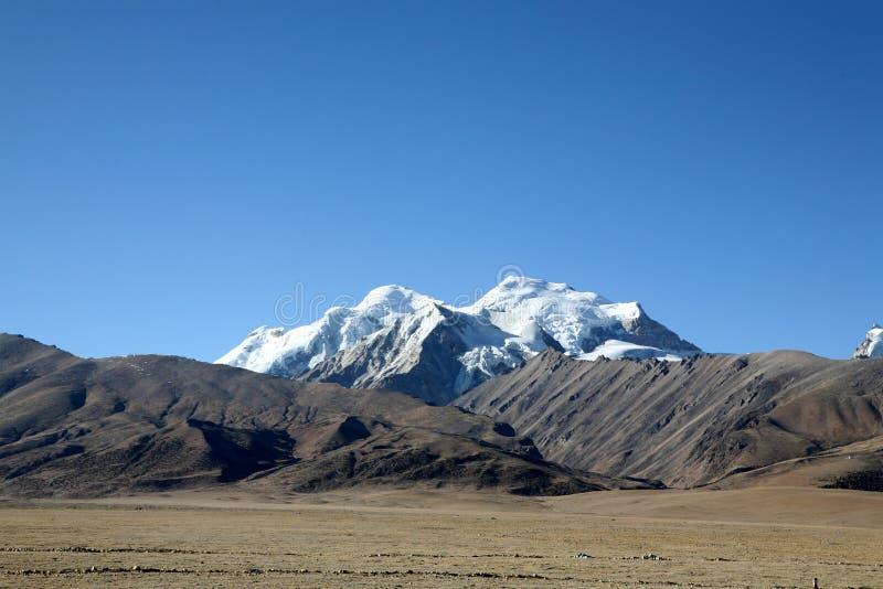 Tibet altiplano stock photos
