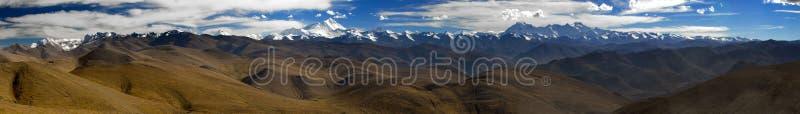 Tibet-Himalaja - panoram stockfotos