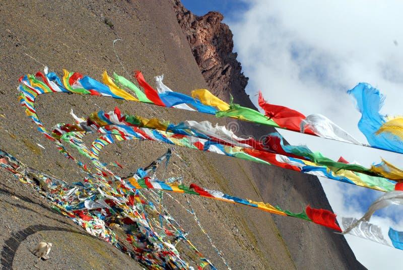 Tibet mark modlitwę zdjęcia royalty free