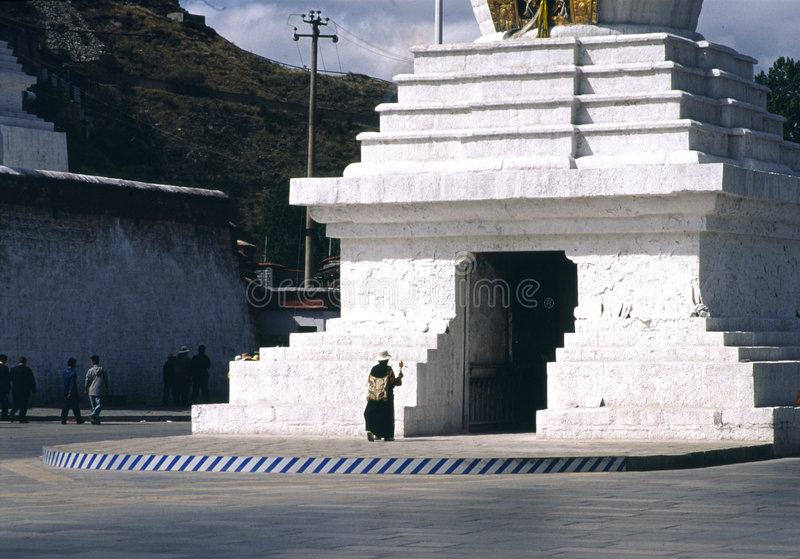 Tibet religii. obrazy royalty free