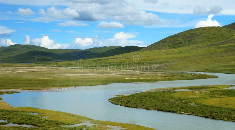 Download Tibet scenery stock illustration. Image of blue, clear - 8265194