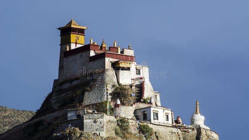 Tibet scenery royalty free stock photo