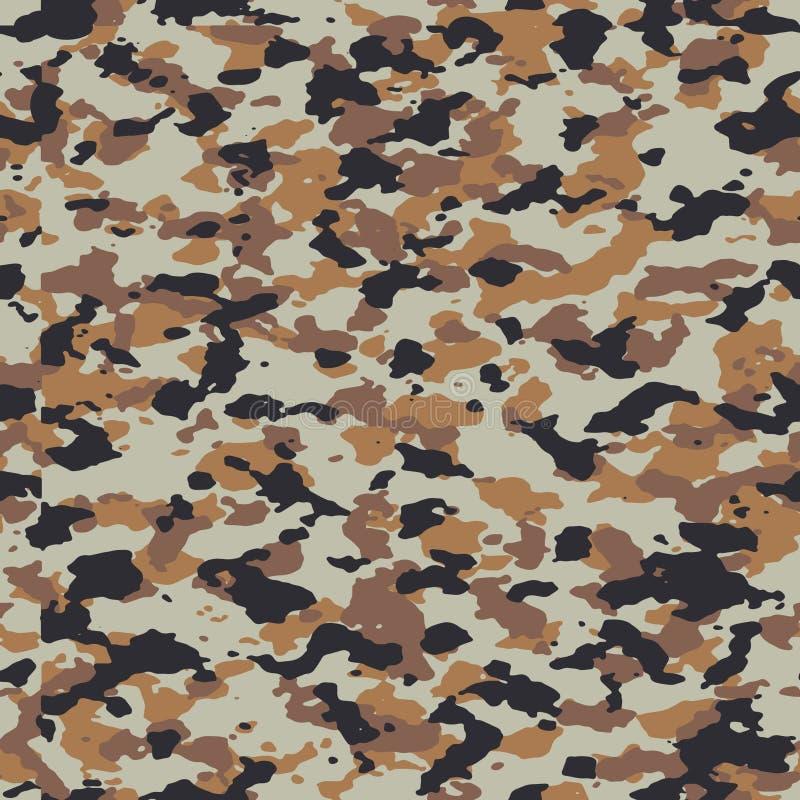 Tibet seamless camo pattern vector illustration
